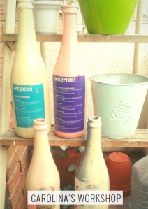 Vintage Bottles - Decorating Ideas for Small Balcony (2)