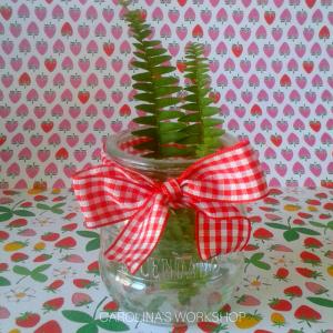 Cute Decorative Bow-tie Mason Jar (3)