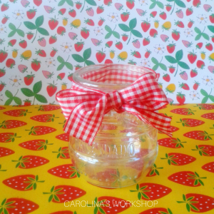 Cute Decorative Bow-tie Mason Jar (4)